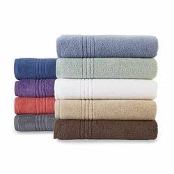Soft Cotton Plain Bath Towel