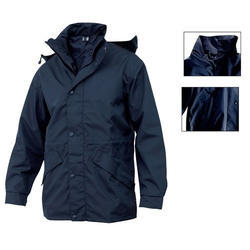 Full Sleeve Casual Wear Mens Long Collar Polyester Jacket