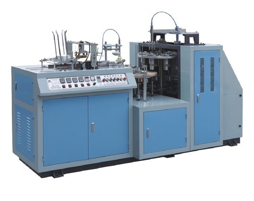 Automatic Paper Glass Machine, Production Capacity: 2000-3000 Pieces per hour