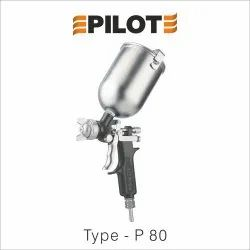 Pilot Stainless Steel Spray Gun Type P-80, Nozzle Size: 1.7 mm