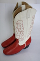 Womens Leather Dancing Boot