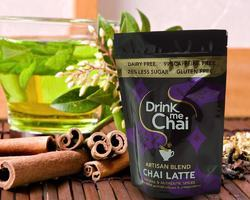 Drink Me Chai Packaging