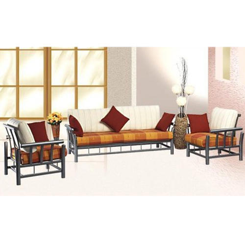 5 Seater Metal Modern Sofa Set With Mattresses