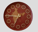Clay Tradition Wall Clock