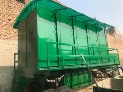 Trolley Mounted Mobile Toilet