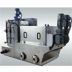Semi-Automatic Sludge Dehydrator