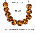 Lampwork Fancy Glass Beads - YVFLB-006