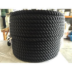Multicolor Solid Braid Polypropylene 5/8 Rope, For Industrial And Marine