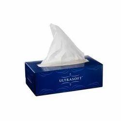 Plain Facial Tissue Paper Box
