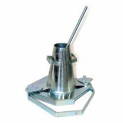 Mild Steel Slump Test Apparatus