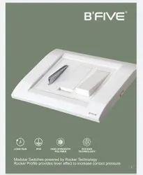 B'Five 6 Amp. Modular Switches, Switch Size: 1 Module, for Commercial/Domestic