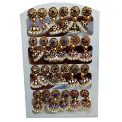 Traditional Imitation Earrings