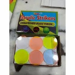 Acrylic Carrom Striker