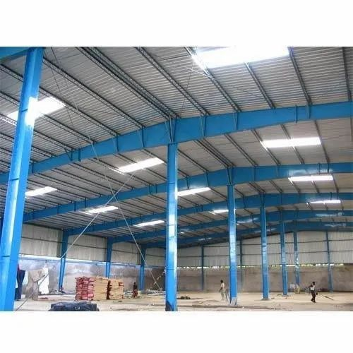 Mild Steel and GI Prefab Pre Engineered Building, for Warehouse