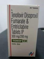 Tenof EM Prep, Packaging Type: Bottle