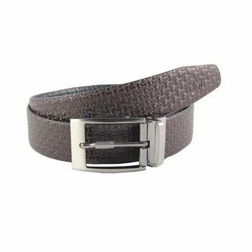 0cfab276f37 Brown Reversible Genuine Leather Belt