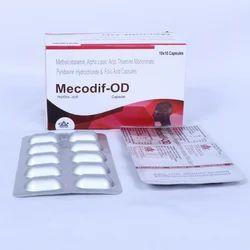 Methyloobalamin Alpha Lipoic Acid Folic Acid Capsule