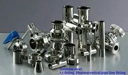 Stainless Steel Pharmaceutical Pipe Line Fitting