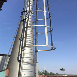 Mild Steel 100 Feet Self Supported Chimney