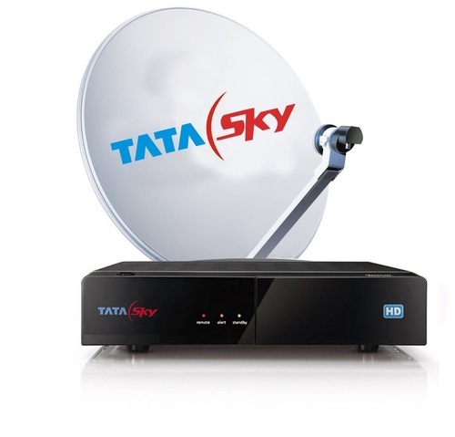 Tata Sky Hd Box With Fta Pack टट सकई सट टप