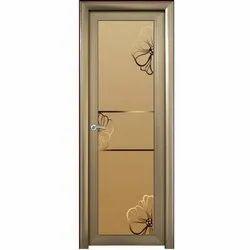 Hinged Aluminium Bathroom Door