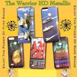 Plastic Mettalic HD Mobile Cover