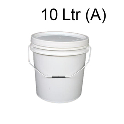 White Plastic Agro Container/ Bucket, For Storage