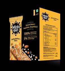 MojoBar - Nutty Apricot Fiber (15 Pack) Snack Bar, 480g