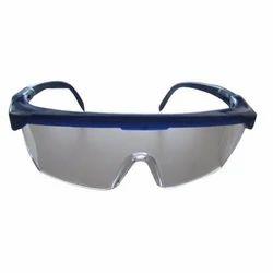 Blue,Black Zero-power Safety Goggles