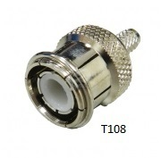 TNC  Crimp Type T108 Connectors