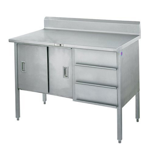 Superb Stainless Steel Counter Table