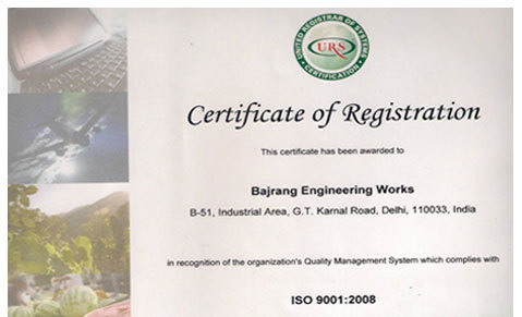 Bajrang Engineering Works - Manufacturer from Imt Manesar, Gurgaon