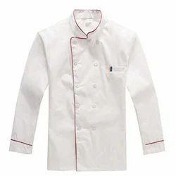 White Cotton Hotel Chef Coat