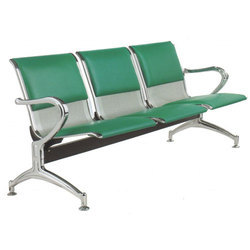 Three Seater Airport Chair With Cushion