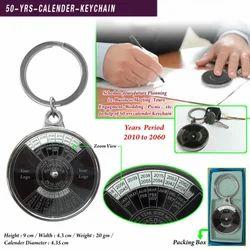 50-yrs-Calender Keychain