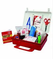 First Aid Kit Plastic Box Handy - SJF P4
