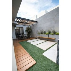 Artificial Roof Gardening Services, Local, 100 Sqft