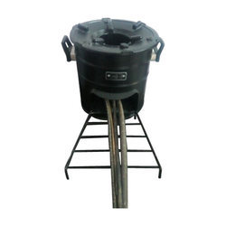 Outdoor Wood Cooking Stove, Size: Small
