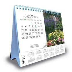 Paper Table Calendar Printing Services, Local+250 Km, In Pan India