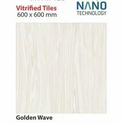 Ceramic Floor Tiles Vitrified Floor Tiles, Thickness: 5-10 mm, Size: 600 x 600 mm
