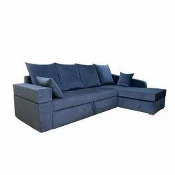 Adorn India Comfort Line Corner Cum Sofa
