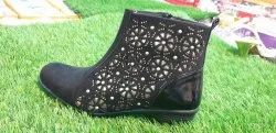 Party Black Ladies Boot, Size: 7 To 12