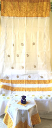 White Designer curtain