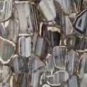 Outdoor Straight Line Agate Slab, Thickness: 16 Mm, Size: 1200x2400x20mm
