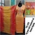 Designer Dupatta Silk Suit
