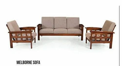 Pleasant Wooden Sofa Set 3 1 1 Beatyapartments Chair Design Images Beatyapartmentscom