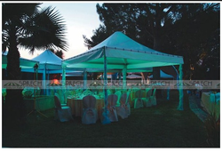 Polyester Plain Marriage Event Tent