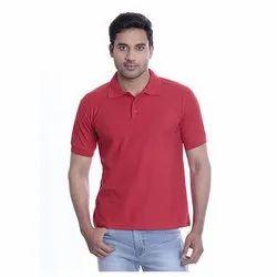 Cotton 220 GSM Mens Polo T Shirt