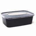 Rectangular C 650ml Plastic Rectangle Container, For Packaging