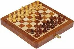 Wood Wooden Chess Board